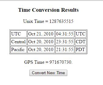 Utc To Central Time Converter