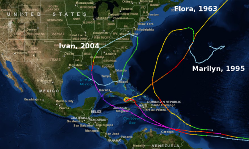 Image result for strange hurricane paths