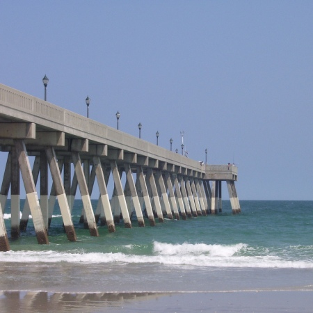 Fishing Pier near Wilmington, NC. Image from NOAA Photo Library