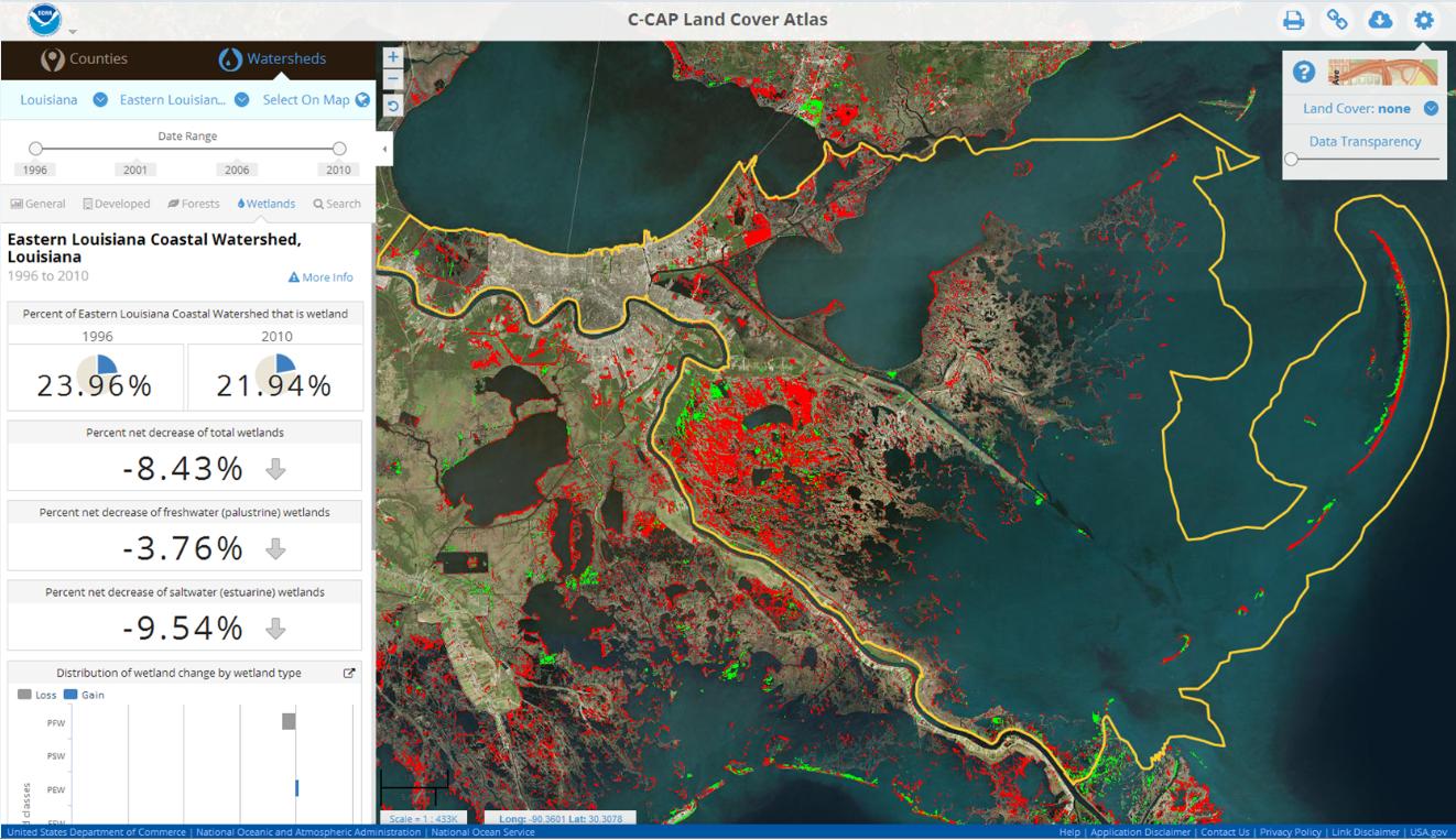 Watershed or County Boundaries Digital Coast GeoZone