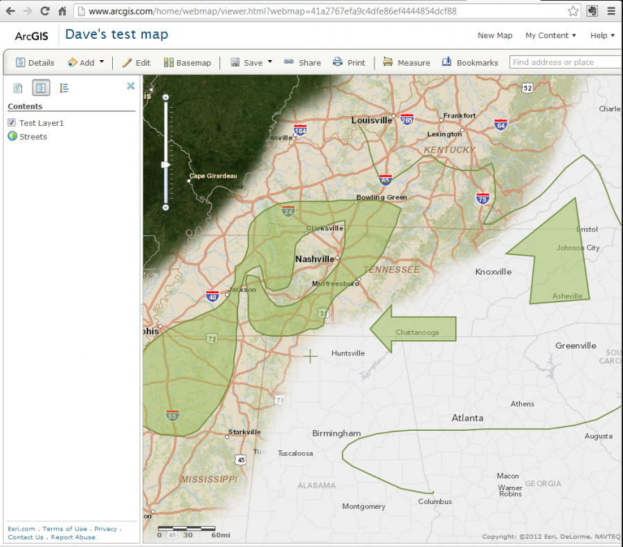 Site Map Example: Digital Coast GeoZone