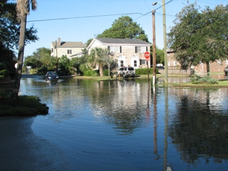 shallow coastal flooding charleston south carolina