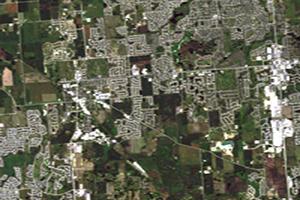 Landsat moderate resolution (30 m) image showing development