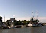 Image of Shem Creek.