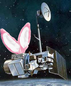 Landsat 5 with bunny ears.